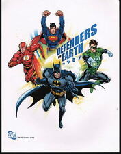 DC Justice League PRINT - DEFENDERS Of EARTH