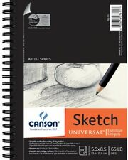 Canson Universal Sketch Paper Pad 5.5 X 8.5 : 100 Sheets