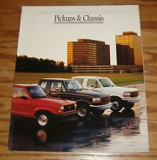 Original 1992 Ford Commercial Truck Pickup & Chassis Sales Brochure 92