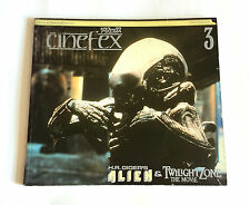 CINEFEX Alien & Twilight Zone JAPAN SFX MAGAZINE 03/1984 H.R. Giger Ridley Scott