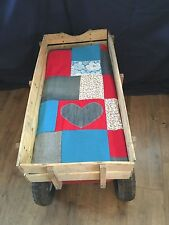Festival wagon mattress, radio flyer, retro wagon, camping cart, handmade