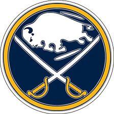 """Buffalo Sabres   NHL Hockey  bumper sticker 5"""" x 5"""""""
