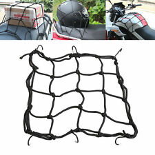 6 Hooks Hold Down Cargo Luggage Helmet Net Mesh for Motorcycle Motorbike US