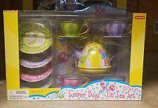 Schylling 15 piece Tin Tea Set
