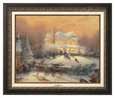 Thomas Kinkade - Victorian Christmas II –Canvas Classic (Aged Bronze) $75 OFF