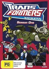 Transformers Animated Season One Collection NEW R4 DVD