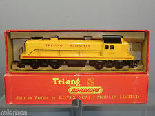 TRI-ANG  RAILWAYS MODEL No.R.155  Bo-Bo  DIESEL SWITCHER ( RARE) VN MIB