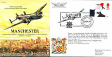 PP9 Planes & Places 1998 Avro Manchester RAF flown FDC