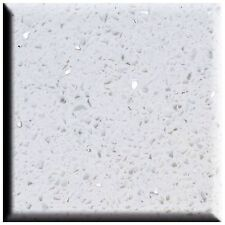 White Starlight Quartz Kitchen Worktop | White Sparkle Gloss Quartz | SAMPLE