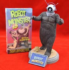 "Rare Robot Monster Attack Of The ""B"" Movie Resin Model Pro Built Painted & VHS"
