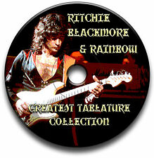 RITCHIE BLACKMORE & ROCHER DE L'ARC-EN-CIEL GUITARE TABLATURE TABLATURE