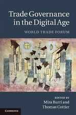 Trade Governance in the Digital Age : World Trade Forum (2012, Hardcover)