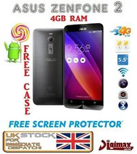 "5.5"" ASUS ZENFONE 2 ZE551ML Z2 ANDROID DUALSIM 4GB RAM 16GB UNLOCKED PHONE UK"