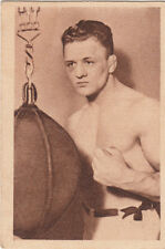 Ernst Pistulla (boxer) Boxe Boxing Germany SPORT CARD IMAGE 30s