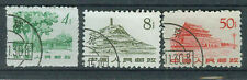 China  Briefmarken 1962 Freimarken Mi.Nr.630+32+37