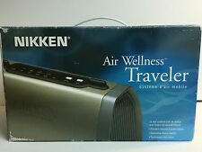 Nikken Air Wellness Traveler HEPA Filtration Ionizer AC/DC Adapter NO Harness