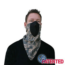 Digital ACU Neodanna Bandanna Neoprene Face Mask Combo Military Tactical Hunter