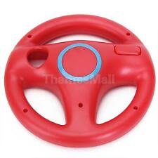 Red 360° Steering Wheel for Nintendo Wii Mario Kart Racing Remote Controller