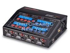 Quad 4 Port 240W 12/6Amps AC/DC Balancing Battery Charger LiPo LiHV NiMh UP240AC