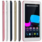 "Unlocked 7"" Dual SIM 3G Phablet 4GB Android 4.4 Phone Tablet PC Bluetooth WIFI"