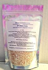 SUGAR GLIDER/SMALL ANIMAL PURE EGGSHELL CALCIUM 4OZ--20% MORE ABSORBABLE-NATURAL