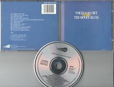The Moody Blues CD VOICES IN THE SKY / THE BEST OF  (c) 1984