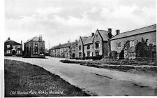 Kirkby Malzeard Market Place Nr Ripon unused old postcard RAP