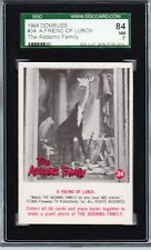 THE ADAMS FAMILY 1964 DONRUSS #34, A FRIEND OF LURCH.  GRADED 84 NM 7 BY SGC