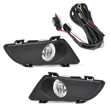 New Right+Left Clear Fog Lights Lamp Lens w/Wiring Kit for Mazda 6 2003 -2004 05