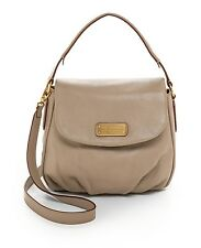 NWT Marc By Marc Jacobs NEW Q Lil Ukita Cement Gray Leather Shoulder Bag $428+