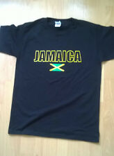 Jamaica T Shirt Black Size Medium