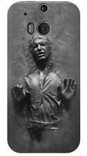 Han Solo Frozen in Carbonite Printed Glossy Phone Case for HTC One M8