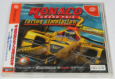 Monaco Grand Prix Racing Simulation 2 Dreamcast Japan JPN * Brand New Sealed *