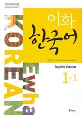 Ewha KOREAN 1-1  ( English version ) : Text Book + 1CD, New, Learn Korean