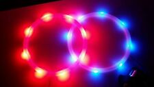 Cornhole lights, Bean Bag Toss, 7 inch LED lights Red and Blue