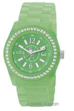 EDC by Esprit ES-Disco Glam afterglow lime EE900172020 Kunststoff Damenuhr