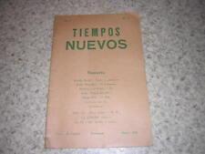 1945.Tiempos Nuevos N°3.anarchisme espagnol
