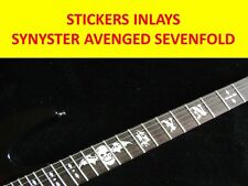 FRET MARKERS INLAY AVENGED SEVENFOLD SYNYSTER VISIT OUR STORE WITH MORE MODELS