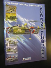 Armour Collection, Die-cast Metal Aircraft 2001