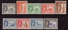 SOMALILAND....  1953-58 pictorial set to 1/30 mint