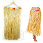 Hawaiian Grass Hula Skirt Halloween Fancy Dress Luau Summer Beach Skirt 80cm
