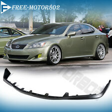 FOR 06-08 LEXUS IS250/350 FRONT BUMPER LIP SPOILER BODYKIT OE STYLE URETHANE PU