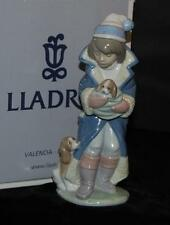 "Lladro Figurine ""FRIDAY'S CHILD (BOY)"" with Puppy #6019-Ret 1997 - J Huerta- MIB"