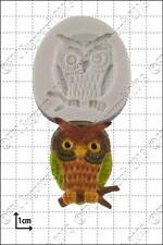 Silicone mould Wise Owl | Food Use FPC Sugarcraft FREE UK shipping!