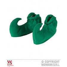Verde De Duende Peter Pan cubiertas de zapatos Adulto Un Tamaño Fancy Dress Costume Accesorio
