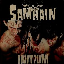 SAMHAIN   Initium  CD  1984 *Signed by GLENN DANZIG*   Metal  Horror  PUNK Rock