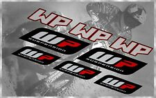 WP SUSPENSION FORKS MX KTM CRF SUZUKI RMZ KAWASAKI KX HUSQVARNA DECALS SET