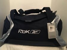 Reebok Travel Sports Gym Medium Grip Dufflle Bag in Blue/ White/ Grey