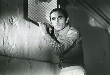 CHARLES AZNAVOUR LES INTRUS 1972 VINTAGE PHOTO ORIGINAL #3
