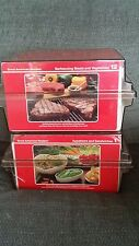 VINTAGE 1980'S GREAT AMERICAN RECIPES CARD 2 BOX SET- over a Thousand Recipes